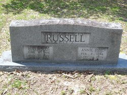 Annie Byrd <I>Stegall</I> Russell