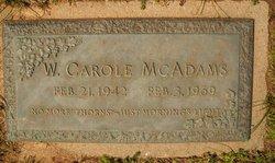 Wally Carole McAdams