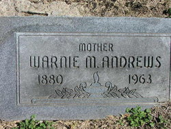 Warnie M Andrews
