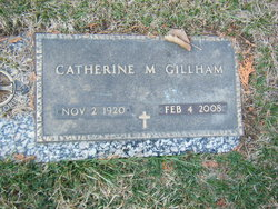 Catherine M Gillham