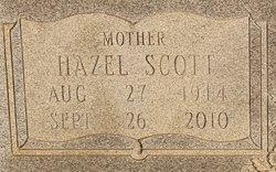 Martha Hazel <I>Scott</I> Auman