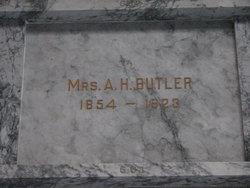 Mrs A. H. Butler
