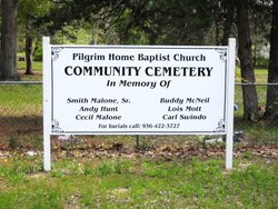 Pilgrim Home Baptist Church Community Cemetery