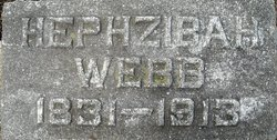 Hephzibah <I>Palmer</I> Webb