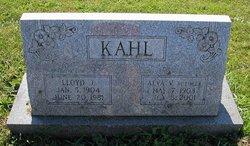 Alva V <I>Boehler</I> Kahl
