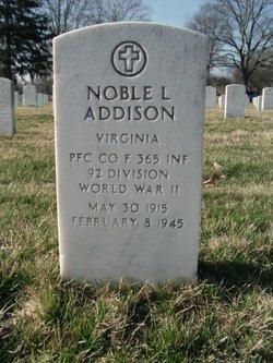 Noble L Addison