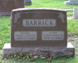 Annie Charlotte <I>Hoover</I> Barrick