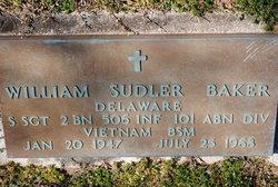 SSGT William Sudler Baker