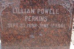 Lillian Otis <I>Powell</I> Perkins