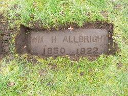 William H Allbright