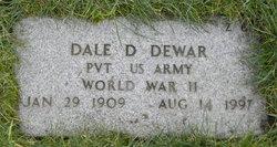 Dale D Dewar