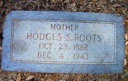 Hodges Sue <I>Garrison</I> Roots
