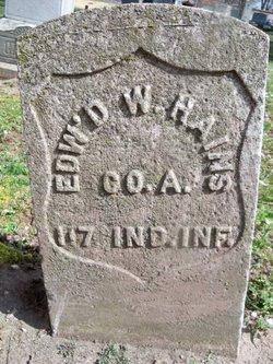 """Edward W. """"Edwin"""" Haines"""