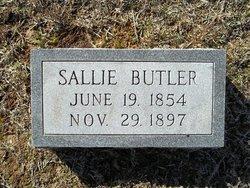 "Sarah W. ""Sallie"" <I>Whitehead</I> Butler"