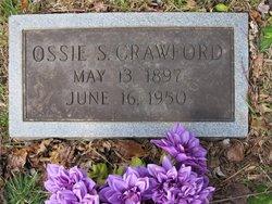 Ossie Lee <I>Silver</I> Crawford