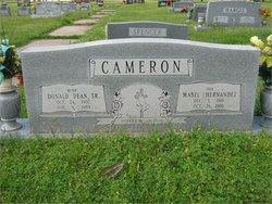 Donald Dean Cameron, Sr