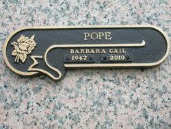 Barbara Gail Pope