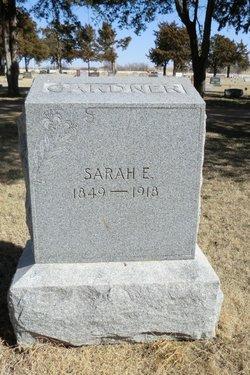 Sarah Ellen <I>Kinsell</I> Gardner