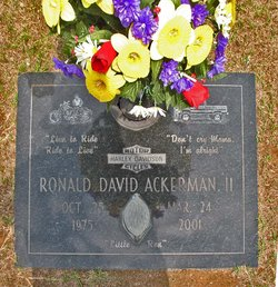 Ronald David Ackerman, II