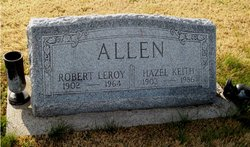 Hazel <I>Keith</I> Allen