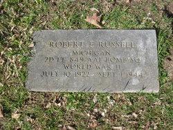 2LT Robert Eugene Russell