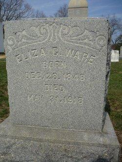"""Elizabeth Catherine """"Eliza"""" <I>King</I> Ware"""