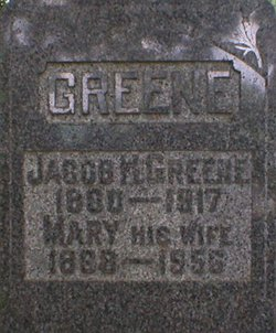 Mary Elizabeth <I>Thompson</I> Greene