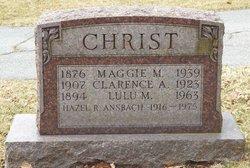 Hazel R <I>Christ</I> Ansbach