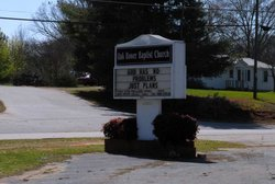 Oak Bower Baptist Church Cemetery