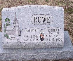 Esther I <I>Umfleet</I> Rowe
