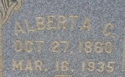 Alberta Catherine <I>Whiteside</I> Scott