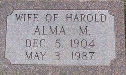 Alma M <I>Hammond</I> Jared