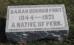 Sarah E <I>Corson</I> Port
