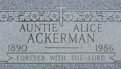 Alice Ackerman