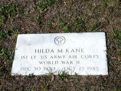 "Hilda Marie ""Billi"" <I>Heilman</I> Kane"