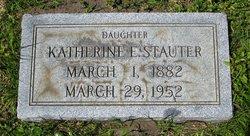 Katherine Elizabeth Stauter