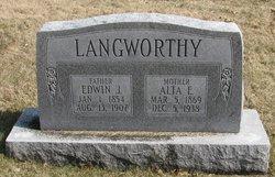 Alta Eveline <I>Ford</I> Langworthy