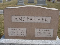 Juanita Mary <I>Shearer</I> Amspacher