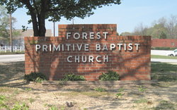 Forest Park Primitive Baptist Church Cemetery