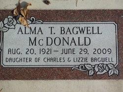 Alma <I>Bagwell</I> McDonald