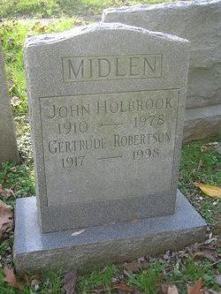 Gertrude <I>Robinson</I> Midlen
