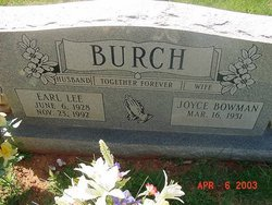 Earl Lee Burch