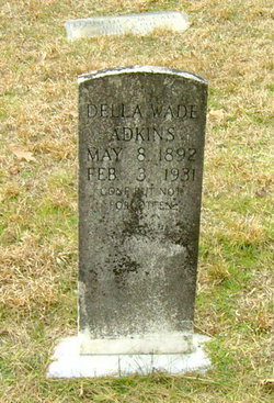 Della Wade <I>Wade</I> Adkins