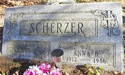 Anna B <I>Sokola</I> Scherzer