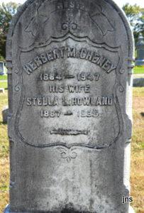 Stella Lillian <I>Howland</I> Cheney