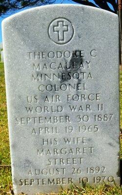 Theodore C Macaulay