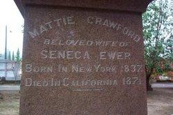 "Mattie ""Sarah"" <I>Crawford</I> Ewer"