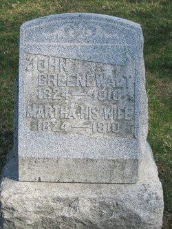 Martha Magdalena <I>Bruckhart</I> Greenewalt