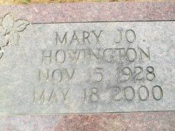 Mary Jo Howington
