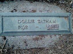 """Amanda Victoria """"Dollie"""" <I>Pruitt</I> Tatham -Asher"""